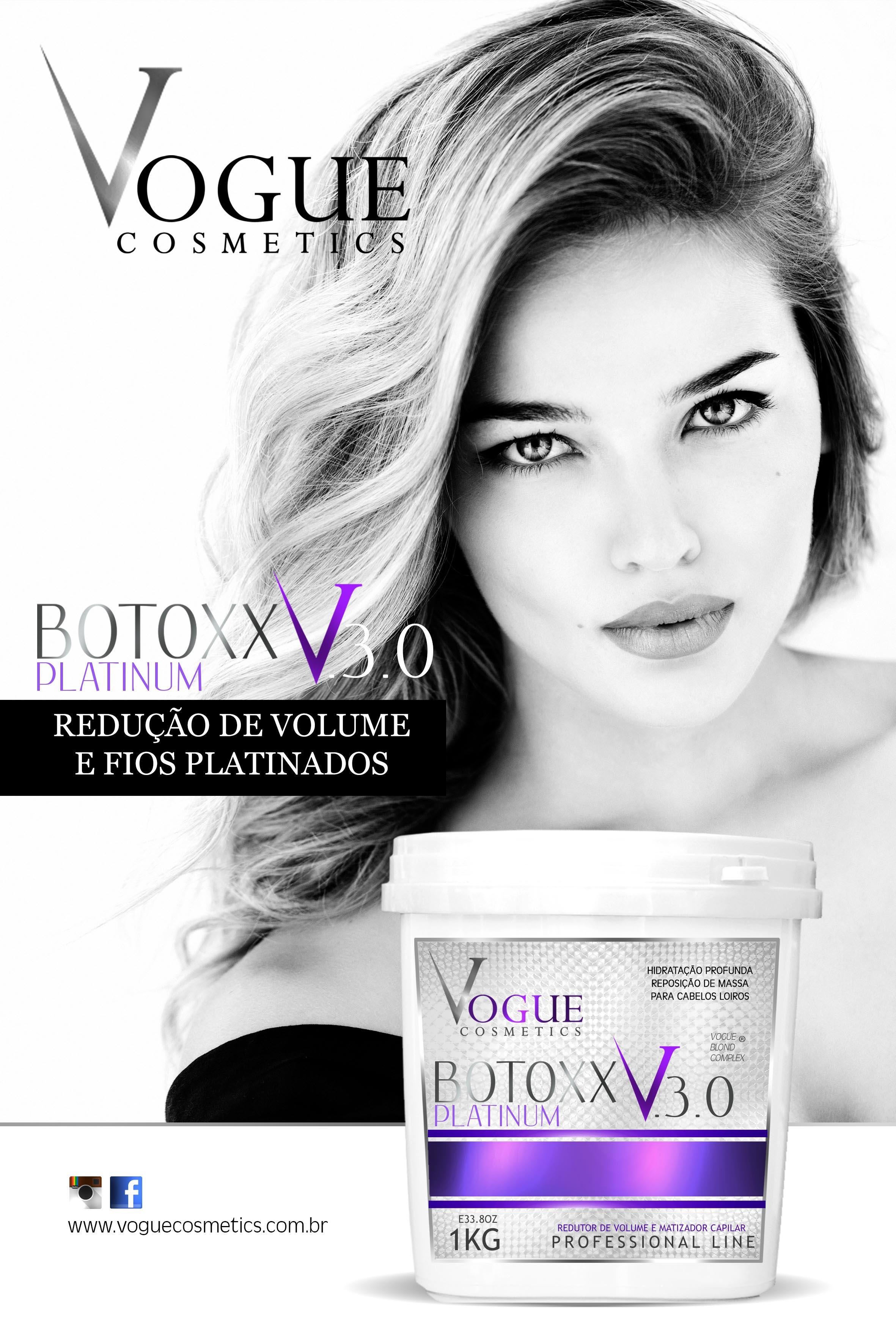 Linha Reposição Capilar   Vogue Cosmetics 439a480030